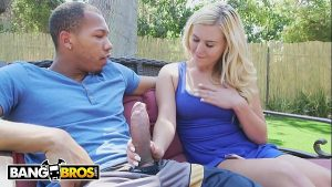 Image BANGBROS – A Big Black Dick For Tiny Blonde Teen Slut Summer Day