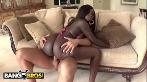 Image BANGBROS – Big Booty Black Babe Tatiyana Foxx Taking White Cock From Rocco Reed