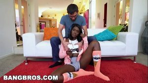 Image BANGBROS – Ebony Gamer Ana Foxxx Gets a Good Fuck (bkb15973)