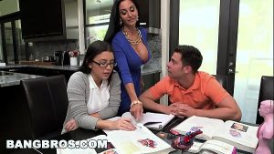 Image BANGBROS – Step Mom MILF Ava Addams Threesome With Teen Daisy Summers