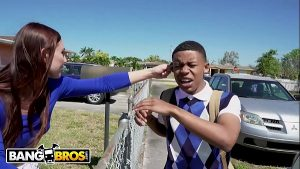 Image BANGBROS – Young Black Student Lil D Gets Anatomy Lesson From Aidra Fox