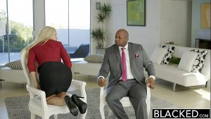 Image BLACKED Business Blonde Anikka Albrite Ass Fucked By a BBC