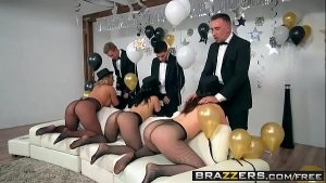 Image Brazzers – Pornstars Like it Big –  Brazzers New Years Eve Party scene starring Chanel Preston, Kris