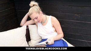 Image TeensLoveBlackCocks – Pierced Blonde Loves Big Black Cock